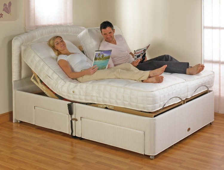 Furmanac Mibed Emily 3ft Single Electric Adjustable Bed By