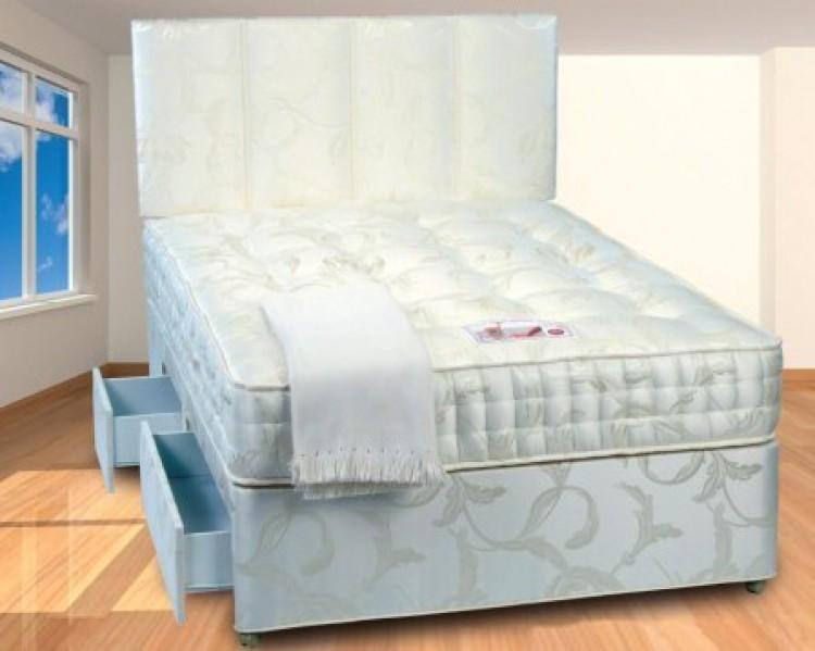 Sweet dream pocket spring mattresspocket coil spring for Pocket sprung single divan beds