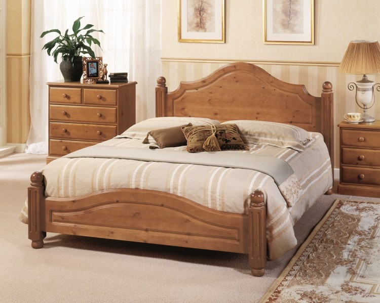 Airsprung Carolina 5ft Kingsize Low Footend Cinnamon
