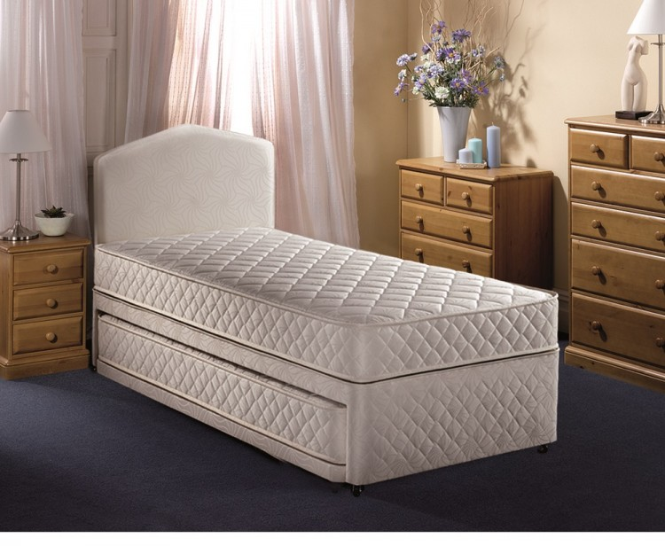 Airsprung Quattro 3ft Single Divan Guest Bed By Airsprung Beds