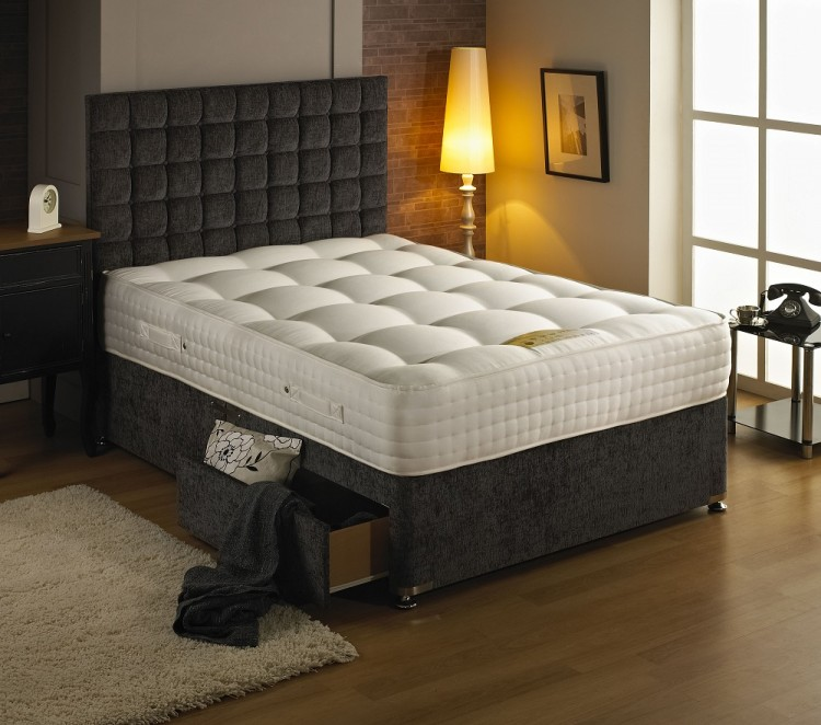 Dura Bed Premier 2000 2ft6 Small Single 2000 Pocket Springs Mattress By Durabed