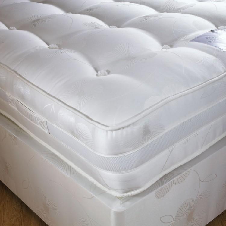Dura bed supreme 1600 2ft6 small single pocket sprung for Pocket sprung single divan beds