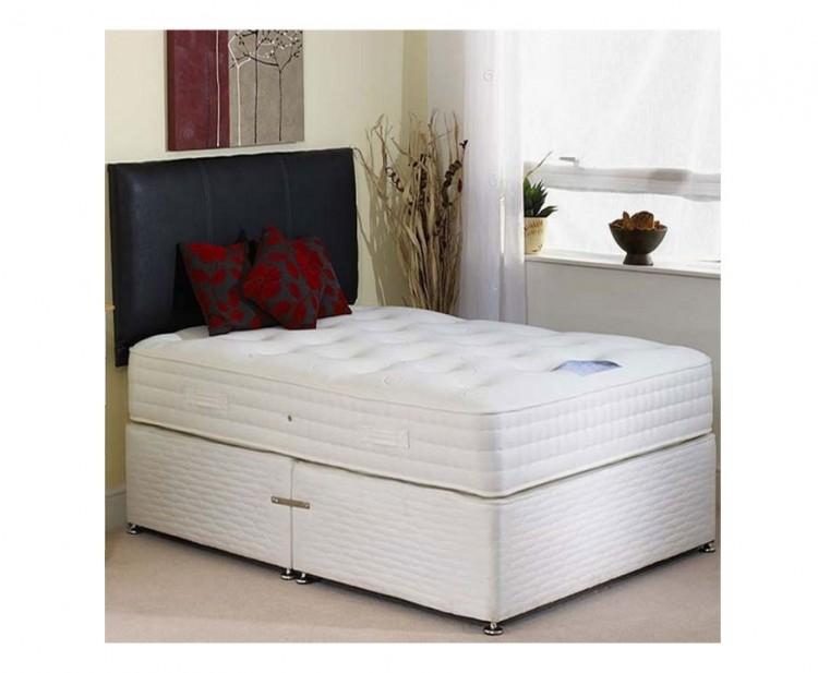 Highgrove affinity 2000 pocket spring 4 39 6 double divan bed for 4 6 divan beds