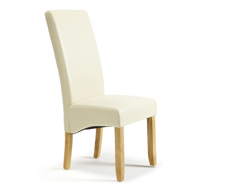 dining chairs dining chairs serene merton cream faux leather dining